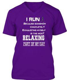 #Best#Running#Fitness T Shirt Ltd Editio Team Purple T-Shirt Front