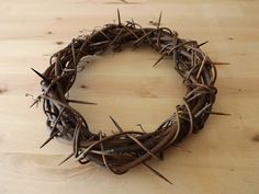 This Crown Of Thorns Wreath Looks Like The Real Thing.