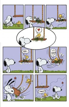 Snoopy in Woodstock's New Nest 05 - unreleased story