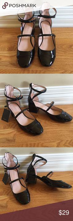 Zara black shoes Nwt Zara Shoes Flats & Loafers
