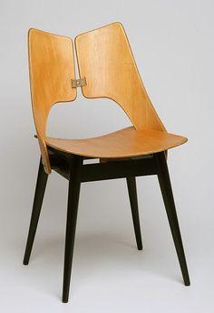 "Maria Chomentowska, krzeslo ""Plucka"", proj, 1956, dla IWP"