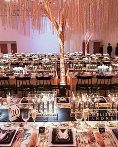 @melissaandreinc did it again! This dreamy setup stole our hearts away with its delightful ambiance of black candles and butterfly details that build a unique look to the table setting. Altogether with the tree and its hanging decoration, the overall set is truly heartwarming. Who wants this flowerless yet stunning setup? Double tap and leave some thoughts below!  Photography @5ive15ifteen