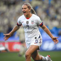 Women's National Team notched an impressive win against rival Sweden to claim first place in Group F in front of fans at Stade Océane. Usa Soccer Team, Soccer Pro, Girls Soccer, Soccer World, Soccer Players, Morgan Soccer, Soccer Tips, Nike Soccer, Soccer Cleats