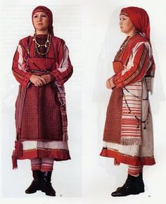 Folk Costume&Embroidery: Overview of the Folk Costumes of Europe, Urdmurtia