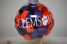 Clemson Tiger Ornament