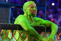 Good sport Earl Thomas disappointed with taste of Nickelodeon's green slime Seattle Mariners, Seattle Seahawks, Kids Choice Sports Awards, Seattle Pride, Superbowl Champs, Earl Thomas, Seahawks Fans, Best Football Team, Different Sports