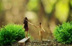 Funny Love Pictures, Beautiful Pictures, Matchstick Craft, Interior Design And Construction, Danbo, Stick Art, Amai, Incense, Photo Art