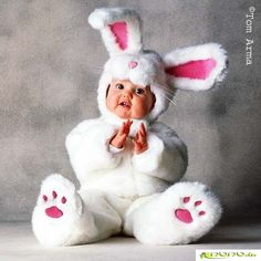 Baby in costume lol...