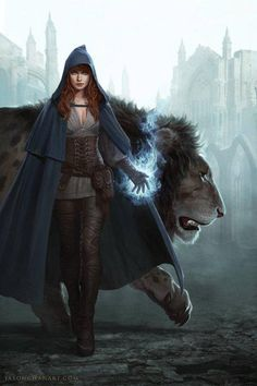 (Open rp. Powers allowed. No fandoms) *i walk through the deserted city with my lion, Demon*