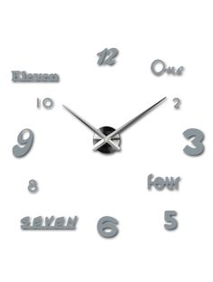 3D ceas de perete color în sufragerie - IRIS, culoare: gri Referinta  12S007-RAL7001-S-COLOR** Conditie:  Produs nou  Disponibilitate:  In Stock  Alege o culoare de unul singur! Timpul a venit mult mai confortabil REALIT ceas nou. 3D Ceas de perete mare este un decor frumos al interiorului. Nu vei fi niciodată târziu.