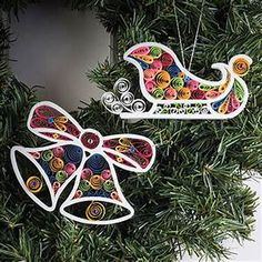 DIY paper quilled Christmas ornament christmas by ...