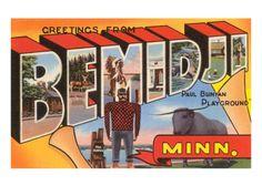 Greetings from Bemidji, Minnesota