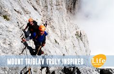 Mount Triglav, the highest Slovenian mountain, is always a very attractive aim to reach.