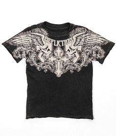 Toddlers-Affliction Winged Up T-Shirt #fashion #buckle