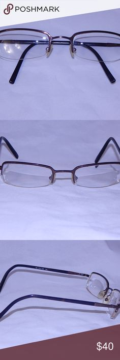 Ralph Lauren Polo 1901 Eyeglass Frames 50 21 140 This is a pair of Polo By Ralph Lauren eyeglass frames, tortoise shell temples, brown half rimless frames, style number 1901.  The measurements are 50 21 140.  They are in excellent used condition, no major condition issues.  All of my items come from a smoke and fur free home. Polo by Ralph Lauren Accessories Glasses