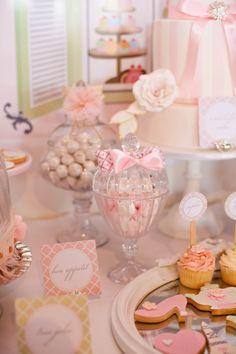 Vintage French patisserie party by Little Big Company
