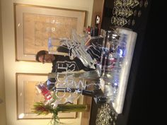 Adding a fun and themed Ice Luge to your cocktail party or main event adds a fabulous and interactive decor element- and another drink to the party!