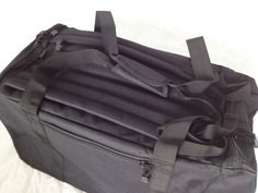 Military Army Tactical Cargo Style Duffle Bag Backpack Black Small