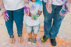 Maddy + Chris | Fun colourful confetti + holi powder engagement session | White Fox Studios Studio Portrait Photography, Studio Portraits, Holi Powder, Fox Studios, White Fox, Confetti, Engagement Session, Fun, Kids