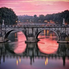 Who knew Rome could be so pink?