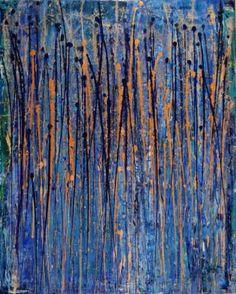"Saatchi Art Artist Nestor Toro; Painting, ""Drizzles II"" #art"