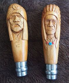 Opinel Custom, Opinel Knife, Dremel Wood Carving, Indian Scout, Wooden Walking Sticks, Celtic Patterns, Carving Designs, Walking Canes, Bone Carving