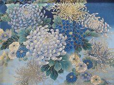 WtW Estate Fabric Kona Bay TRAN-01 Floral Flower Metallic Garden 2011 BTY Quilt