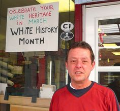 """Black People Call Cops Because """"White History Month"""" Sign Hung In Deli Window « Pat Dollard"""