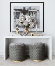 Elegant Home Decor, Elegant Homes, Modern Chic Decor, Grey Home Decor, Contemporary Decor, Leather Living Room Furniture, Modern Furniture, Rustic Furniture, Antique Furniture