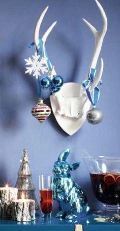 christmas decor living etc magz via birght bazaar