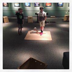 6yo & 7yo at @museumoflifeandscience #littlebuilders #parenting #gram