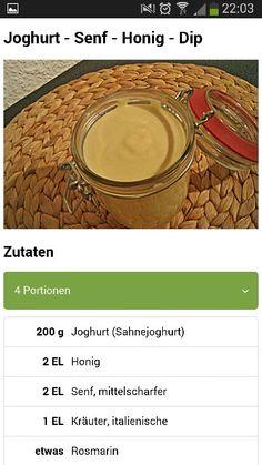 Joghurt-Senf-Honig