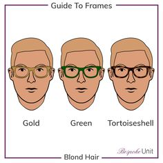 67c6f6530065 Blond Hair With Gold Green And Tortoiseshell Glasses Glasses Guide