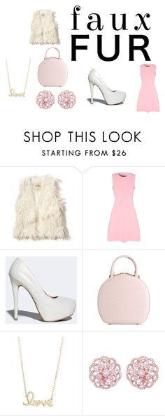 """What's pink and covered with fur?"" by finn-hudson-forever24 ❤ liked on Polyvore featuring Hollister Co., True Decadence, Qupid, Simone Rocha, Sydney Evan, Pink, pretty and fauxfurcoats"