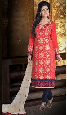 Crimson Color Chanderi Silk Straight Cut Readymade Churidar Suit   FH512978097 #salwar, #kameez, #readymade, #anarkali, #patiala, #pakistani, #suits, #online, #stitched, #indian, #dress, #material, #shopping, #fashion, #boutique, #mode, @heenastyle , #designer , #pakistani , #evening , #wedding , #casual , #palazzo , #patiyala , #punjabi , #churidar , #narrow