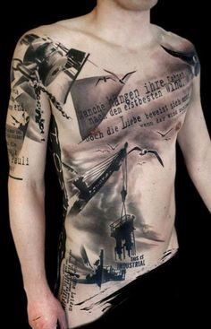 +++ trash polka ®+ the original ++tattoo by  +++ SimOne Pfaff +++Volko Merschky  Buena Vista Tattoo Club - Würzburg/Germany