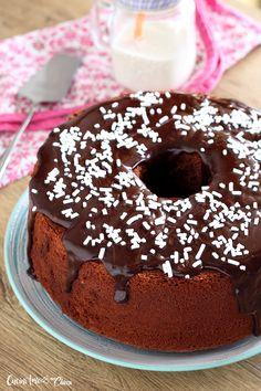 CHIFFON CAKE ALLA NUTELLA il ciambellone più altro e soffice del mondo è buonissimo! #ricetta #food #chiffoncake