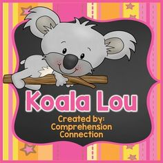 Koala Lou is a sweet book, and this *newly updated unit is perfect for small group and paired reading. It includes choices for before, during, after reading.  Activity options are:schema building about koalas (alphaboxes)tier 2 vocabulary introduction and practicesequencing (project) -2 pagesstory elementscharacter traits-2 pagesmaking connectionsvisualizingresearch about koalas and Australiaand writing in response to readingIf you love Mem Fox you can purchase my full collection of units at…