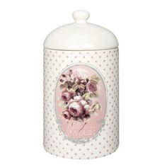 Pot à coton Mille Roses Orval Créations