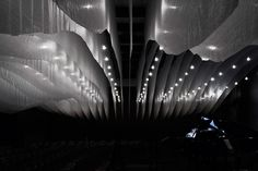"""I want """"thermally bonded non-woven geotextile fabric"""" in my house   Gym Transformed into Concert Hall   Yatzer"""