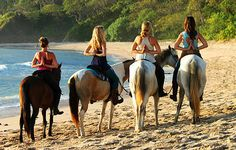 Yoga with horses at the beach with Equisol Retreats- www.equisolretreats.com