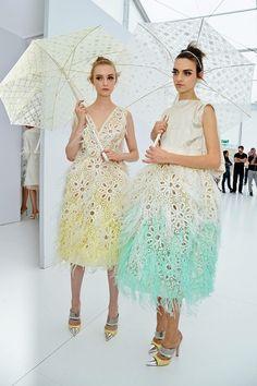 airy ethereal // Vuitton SS  2012 #womenswear #stylish #fashionable