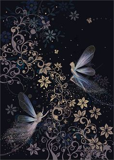 Fairyland - Bug Art Jewels by Jane Crowther