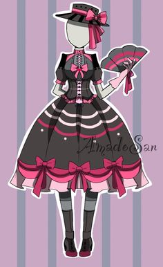 victorian loli outfit adoptable open by AS-Adoptables.deviantart.com on @DeviantArt