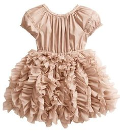 29 Examples of Chic Children's Clothing - From Toddler Couture to Stylish Kiddie Lookbooks (TOPLIST) ***LOVE THIS DRESS!! Doesn't look too difficult to copy but I'd definitely change the color!
