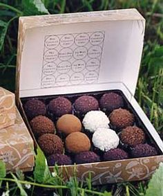 The Chocolate Garden in Coloma, MI. The best chocolate truffles ever, bar none, come from the heartland. Absolutely worth the road trip if you're anywhere near the eastern shore of Lake MI. This was a favorite detour when I was traveling from South Bend to Grand Rapids; now I mail order :)