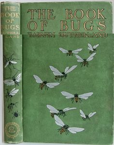 The Book of Bugs by Harvey Sutherland, New York and London: Street & Smith ©1902 | Beautiful Antique Books