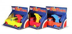 Tomte Tre biler i original emballasje serie 1:30