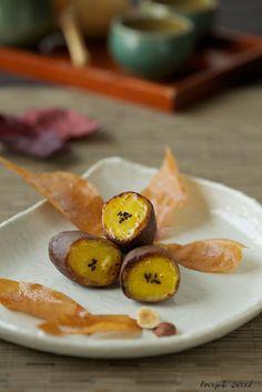 Sweet Potato Japanese Wagashi Cake スィートポテト