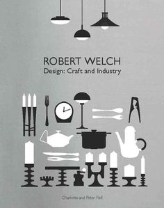 Robert Welch was one of the leading British designers of the 20th century. Strongly influenced both by the artisanal tradition of the Arts & Crafts movement and by Scandinavian Design, he set up his own studio in the mid-1950s, initially working on silverware, then branching out into broader product design. This book deals with his life and work. #HappyReading
